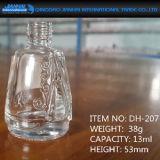 Chinesische Art-Glasnagellack-Flasche mit Emobossed Muster