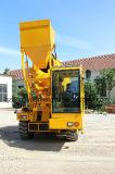 4.0 Individu automoteur de mélangeur diesel du mélangeur concret 4X4X4 de m3 chargeant le camion mobile mobile de mélangeur concret à vendre