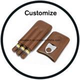 Caixas de charutos de papelão Madeira personalizada