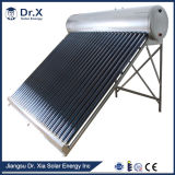 Baja presión de 120L de agua del sistema de calefacción solar