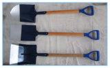 플라스틱 그립 S501fhv/S503fhv/S512fhv를 가진 목제 손잡이 삽