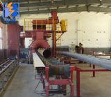 Tubo de acero de pared interior y exterior de la máquina de granallado Shot