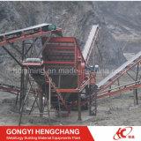 大きい容量の砕石機のコンベヤーベルト機械