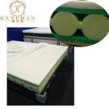 Espuma de memoria+Converluted OEM y espuma de colchón de espuma de limpieza para uso doméstico Roll Embalaje comprimido