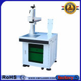 Marcatura ad alta frequenza del laser della fibra della Tabella per il ferro