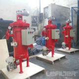 A operação automática do filtro de limpeza para água suja
