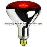 Vidrio rojo de la lámpara infrarroja R40 para el tratamiento de la carrocería