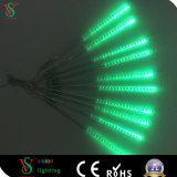 Im Freien Lichter des LED-bunte Schneefall-Meteor-LED