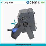High Power CE 7 * 12W Rgbaw DMX LED plana PAR Uplight para o Estágio