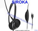 precio de fábrica Gamer auriculares con conector USB para jugar