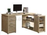 Venta caliente L escritorio gris del ordenador de la esquina de la dimensión de una variable (SZ-OD457)