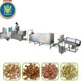 ligne jumelle de production alimentaire d'animal familier de boudineuse à vis