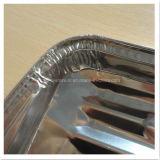 Удобный Pollution-Free одноразовый поддон гриля для барбекю из алюминиевой фольги