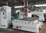 Disco 3 ejes de madera de ATC Router CNC Máquina para muebles de madera con Italia por el husillo de 9.0KW HSD