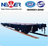 de Wagen van de Vracht van vlak-Contrainer van de Spoorweg van de Maat van 1000mm
