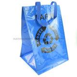 Многоразовый мешок сплетенный PP для покупкы, мешок промотирования для рекламировать