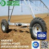 Sistema de irrigación de la granja de pivote de centro con las piezas galvanizadas sumergidas calientes
