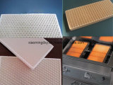 ガスストーブのための陶磁器の蜜蜂の巣の赤外線陶磁器の版