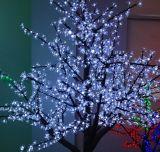 Lumières d'arbre de fleur des vacances DEL de lame d'érable de lumière d'arbre de DEL