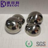 Esfera del metal grande del hemisferio del acero del precio de fábrica 55m m 60m m 63m m media