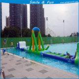 Equipamento de parque de água inflável para slides, trampolim, salto, salto