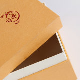 カスタムギフト用の箱のティーバッグ300のGSMのペーパー包装ボックス