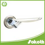Traitement de porte en aluminium d'usine de constructeur de la Chine sur Rose
