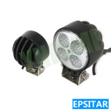 4inch 12W Epistar LEDs 트럭을%s Offroad LED 일 빛