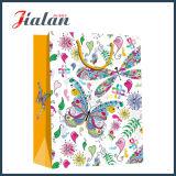 Natural Design plein imprimé coloré Logo sac de papier de vente au détail de chocolat