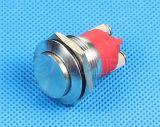 19m m IP68 impermeabilizan el interruptor de botón del metal del tornillo (GQ-19B/H/F)