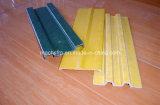 Tipo perfil de la placa del golpeador de K100A de la extrusión por estirado del material de la fibra de vidrio