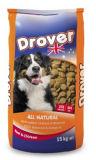 L'emballage de nourriture pour chiens BRC Stand up de la cornière de sac à fermeture éclair