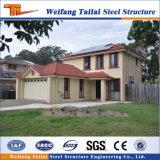 Casa prefabricada de Australia del estilo del chalet estándar chino de la estructura de acero