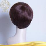 El cabello virgen Remy Hair Extension encaje peluca