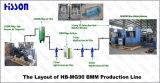 5ガロンペットびんのブロー形成機械HbMg90
