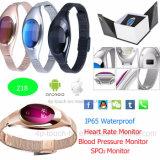 Pulseira impermeável Smart Bracelete Bluetooth com o Monitor de Ritmo Cardíaco Z18