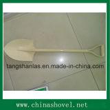 Spade van de Schop van het Handvat van het Staal van de spade de Poeder Met een laag bedekte