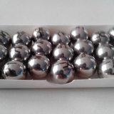 Redondo de metal sólido de cojinete de bola de acero cromado o dial