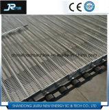 Materieller Edelstahl-Augen-Link-Metallförderanlagen-Maschendraht-Riemen für Tiefkühlkost