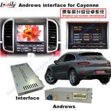 ポルシェMacan、Panamera、カイエンヌUpgrade Touch、1080P、WiFi、Btのための車Android Navigation Interface Box
