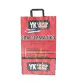 Bolsa de papel Kraft de carbón de madera, carbón de leña para barbacoa bolsa de papel de embalaje