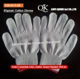 K-68 65g/Paire de gants de coton tricotés la sécurité au travail