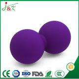Bola modificada para requisitos particulares del masaje de la yoga del caucho que hace espuma del caucho de silicón de la TPE EVA