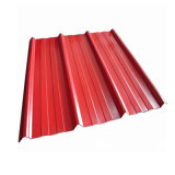 Color prebarnizado Gi Hoja de techos de cartón ondulado