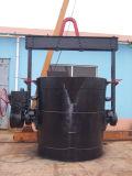 100% neuestes heißes Metallströmende Stahlgießkelle