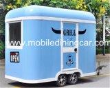 Kokende Aanhangwagen van de Kar van het Voedsel van de Aanhangwagen van het Voedsel van de Prijs van de fabriek de Mobiele voor Verkoop