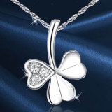 925 Sterling Silver Clover counterpart Silver Jewelry for Wedding Jewelry