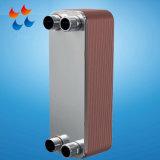 Petrolio/gas che raffredda lo scambiatore di calore brasato smontabile del piatto Pl022