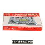 De Dopsleutel van het werktuig 40PC CRV Voor AutoBevordering wordt geplaatst (TSP0501 die)