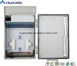 Coffret d'extrémité de fibre optique de faisceau du cadre de distribution de fibre de FTTH 48